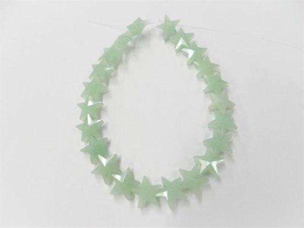 画像1: グリーンアベンチュリン 星型 11ミリ