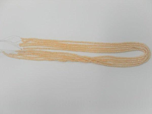 画像3: 淡水パール極小ポテト ナチュラルオレンジ 2.5mm